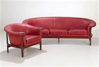 soffa och fåtölj by johannes andersen
