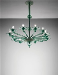 fourteen-armed chandelier by vittorio zecchin