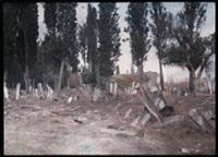 turquie: cimetière (+ village; 2 works) by jules gervais courtellement