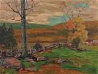 wooden pasture by paul barnard earle