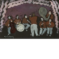 california collegians by milton avery