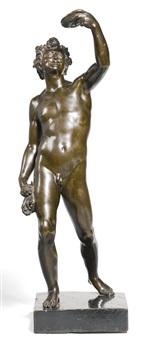 bacchus (after jacopo sansovino) by massimiliano (benzi) soldani