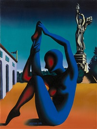 new monument by mark kostabi
