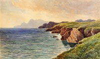 achill head, co. mayo by james alfred aitken