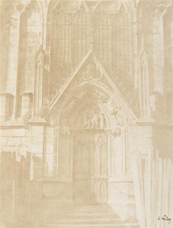 Notre Dame De Paris Porte Rouge By Henri Le Secq On Artnet