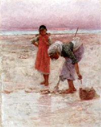 digging for bait by pierre billet