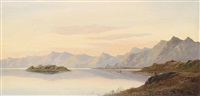schottische landschaft by charles leslie