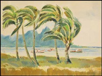 tropical landscape by ronald threlkeld jackson