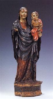 madonna col bambino by francesco di valdambrino