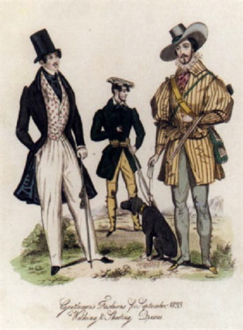 regency gentlemens fashions by william wolfe alais