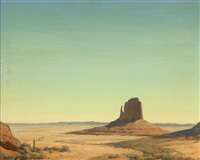 the luring distance, mittens, monument valley park, arizona by clyde eugene scott