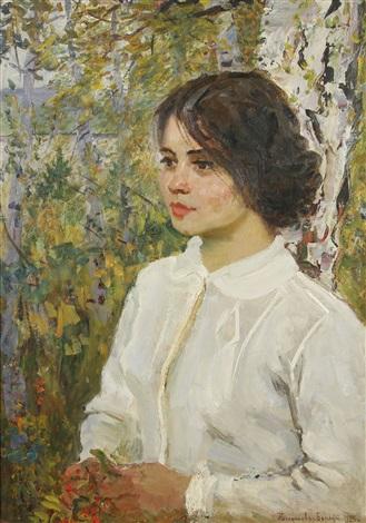 autumn musings by nikolai petrovich bogdanov belsky