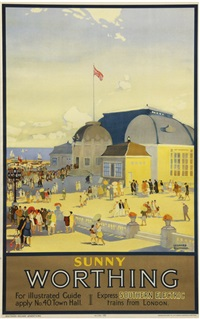 worthing, southern electric by leonard richmond