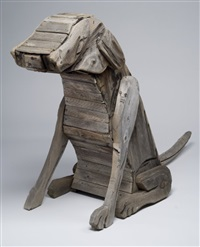 dog by bernard langlais
