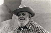 henri cartier-bresson, new york * ansel adams at ranchos de taos, new mexico (2 works) by beaumont newhall