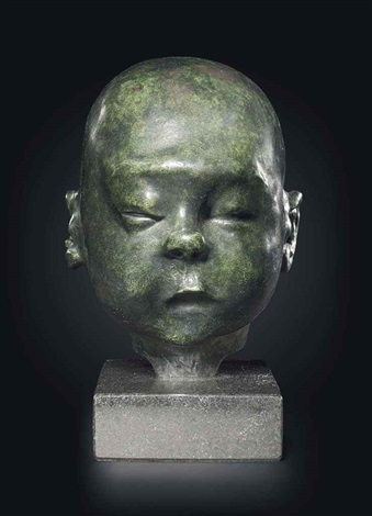 baby asleep by sir jacob epstein