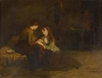 jeannie and effie deans in prison by robert herdman