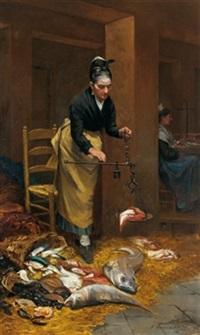 die fischverkäuferin by limosin d' alheim