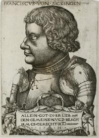 portrait franz von sickingen by hieronymus hopfer