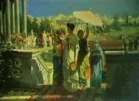 scena dell'antica roma by prospero piatti