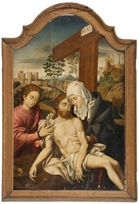 la descente de croix by flemish school (15)
