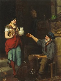 a pause for refreshment by m. hifter