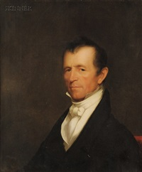 portrait of alden bradford by chester harding
