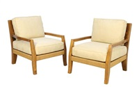 lounge armchairs (pair) by kreiss furnishings