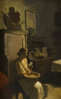 žena s dopisem by josef multrus