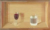 wein- und wasserglas by bernhard dörries