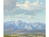spring shower in the high desert by marion kavanaugh wachtel