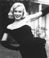 marilyn monroe, for life by ed clark