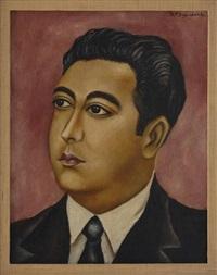 retrato de roberto guzmán araujo by maría izquierdo