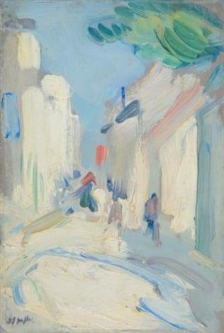 streetscene france by samuel john peploe