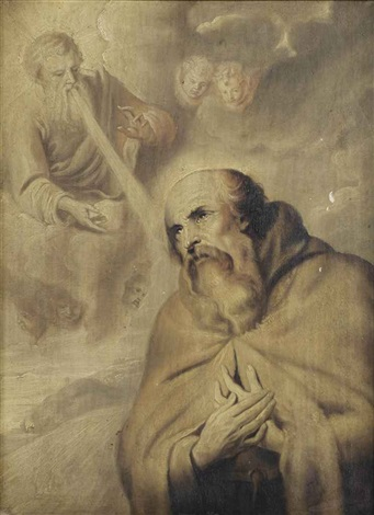 the vision of saint francis of assisi by sir anthony van dyck