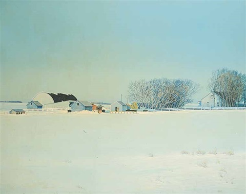 afternoon sunlight (near st. paul auction mart) by william (bill) h. webb