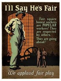 i'll say he's fair by posters: propaganda