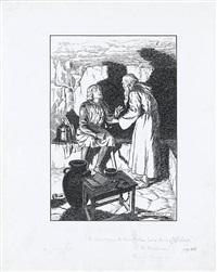 he learnt from the hermit how sabra fared by norman ault