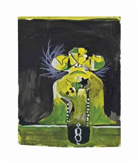 study of a rock formation by graham sutherland