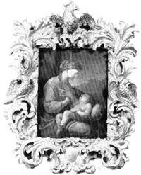 la vierge et l'enfant by lubin baugin