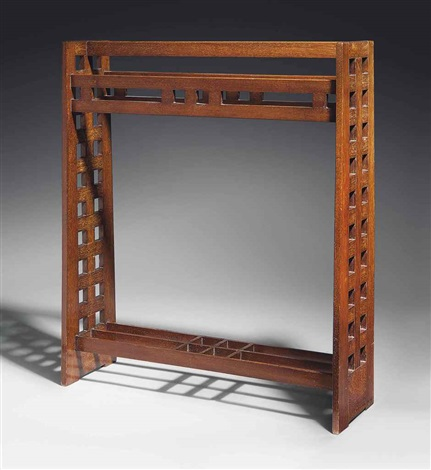 towel rail by charles rennie mackintosh