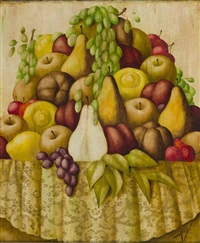 nature morte aux fruits by philippe augé