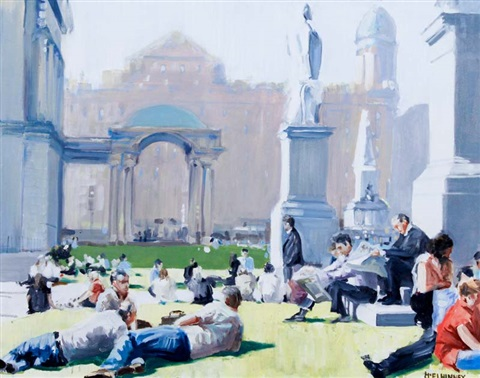 summerlunch city hall belfast by david mcelhinney