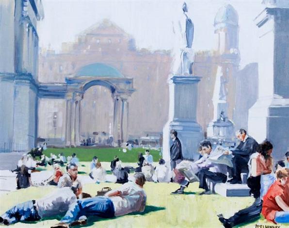 summerlunch city hall belfast by david mcelhinney