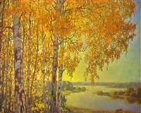 la riviere en automne by igor fadine