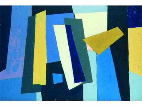 composition abstraite by jean signovert