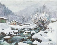 grisaille de neige by angelo abrate