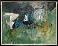 abstracto en verde by alfonso mena