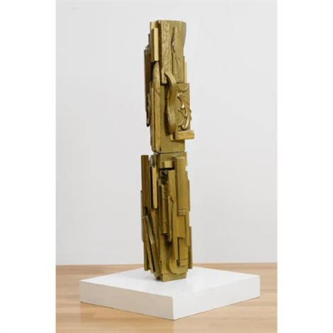 untitled (in 2 parts) by louise nevelson