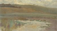 landscape (study) by thomas (tom) humphrey